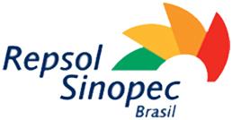 Logo Patrocínio Ouro Repsol Sinopec Brasil